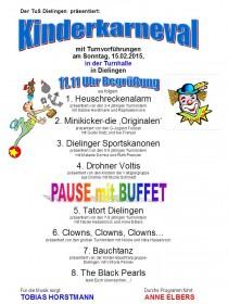 Grosser Kinderkarneval in Dielingen Stemwede