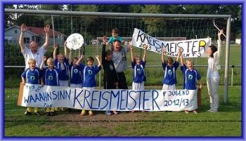 F-Junioren sind Kreismeister und Vize-Pokalsieger