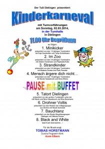 Grosser Kinderkarneval in Dielingen