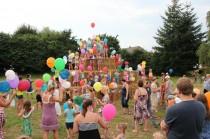 Kinderfest für den neuen Spielplatz