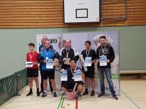Tischtennis Kreismeisterschaft Herren E Bad Oeynhausen