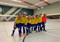Erfolgreiche Hallensaison der Dielinger Mini-Kicker!