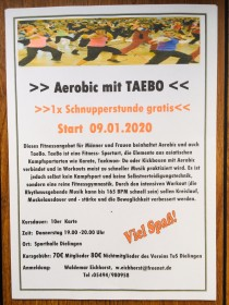 TaeBo - Neuer Kurs startet!