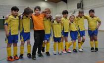 Mini-Kicker feiern Stemweder-Berg-Pokal-Sieg